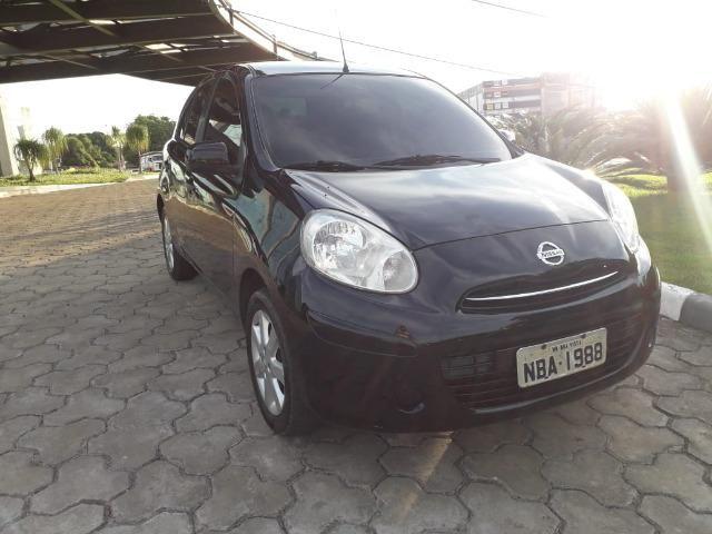 Nissan March 1.6 Sv Flex 2013 - Completissímo - Foto 2