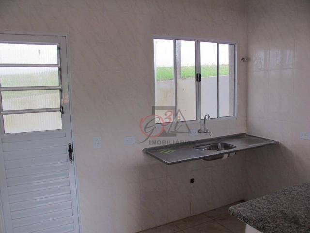 Casa nova 2 dormitorios, 1 suite, 2 vagas, piscina, em condominio Km 44 da Raposo. - Foto 4