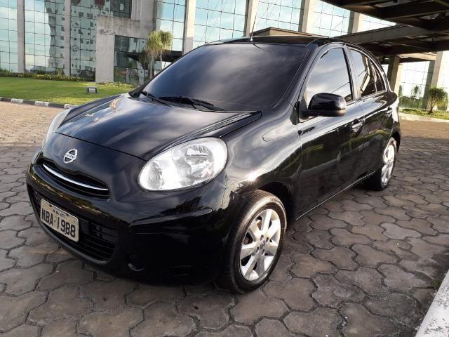 Nissan March 1.6 Sv Flex 2013 - Completissímo