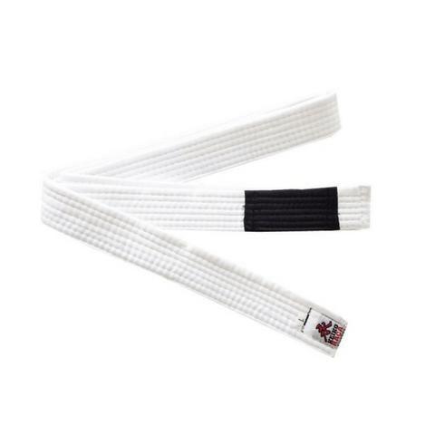 Faixa branca da marca keiko tamanho A3 Jiu Jitsu/Judô trançada e reforçada - Foto 4