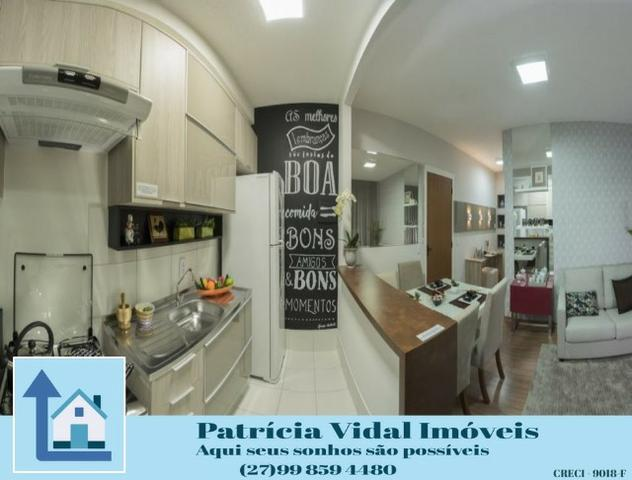PRV56-Apartamento 2qtos com quintal programa minha casa minha vida lazer segurança total - Foto 7