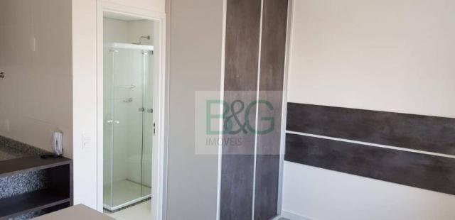 Studio com 1 dormitório para alugar, 34 m² por r$ 2.101,00/mês - ipiranga - são paulo/sp - Foto 12