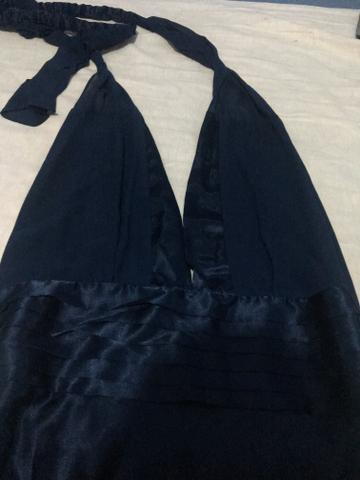 Vestido longo de Cetim - Foto 4