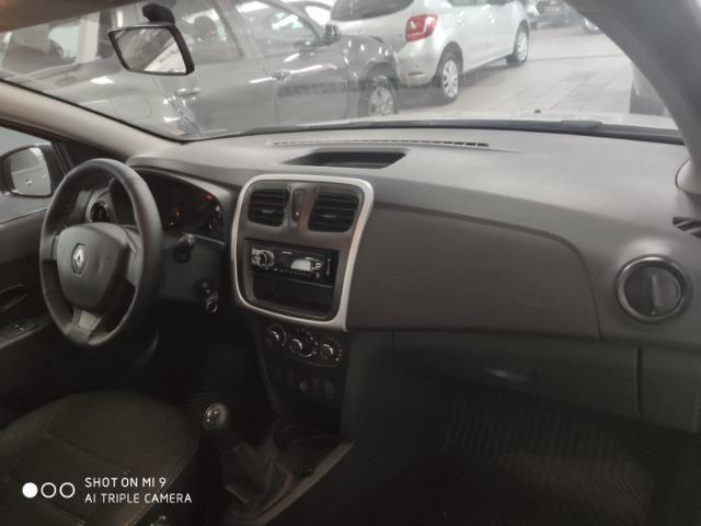 Renault Logan Authentique FLEX 1.0 12V 4P - Foto 2