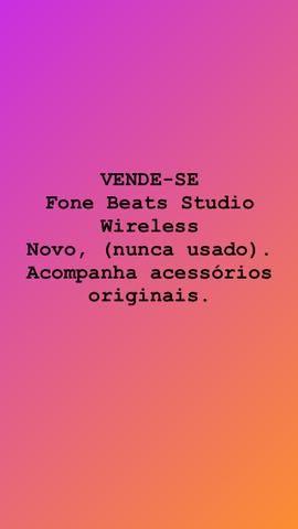 VENDE-SE Fone Beats Studio Wireless Novo, (nunca usado). Acompanha acessórios originais - Foto 3