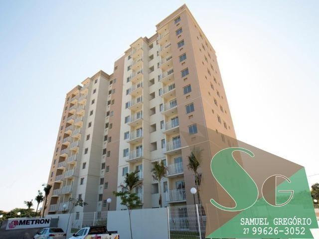 SAM - 66 - Via Sol - 2 quartos - 48m² - Morada de Laranjeiras - Serra, ES