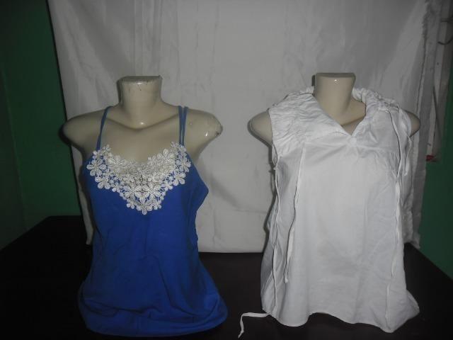 Lote contendo 8 blusas tamanho (P) R$ 50,00