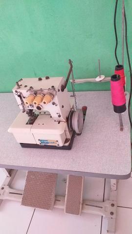 Máquina de costura / galoneira de 3 agulhas - Foto 3