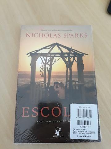 Livro: A Escolha (Nicholas Sparks)