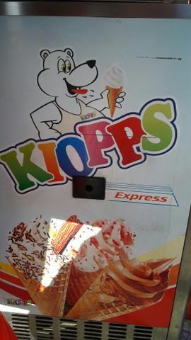Máquina de sorvete expresso kioops
