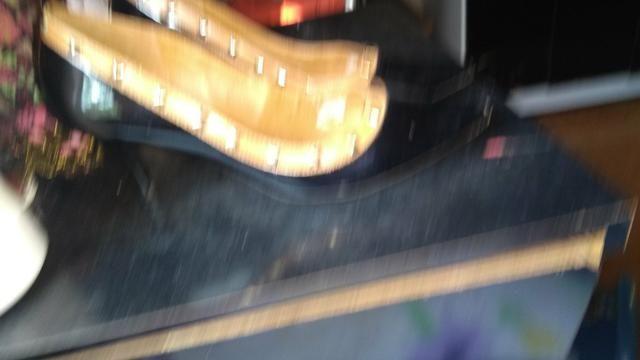 Sapato bico fino salto 6 cm número 37 - Foto 5