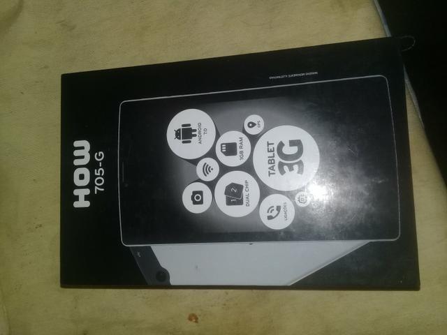 Troco Tablet Semi novo em Celular. - Foto 5