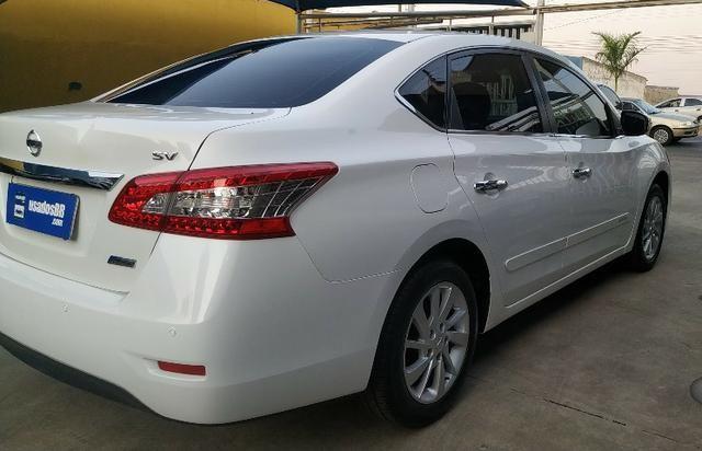 Sentra Automático 2014 Branco Pérola - Sem Retoques - Impecável - Ipva Pago até Nov/2020 - Foto 5