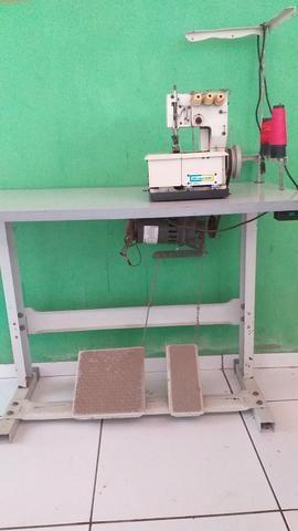 Máquina de costura / galoneira de 3 agulhas - Foto 2