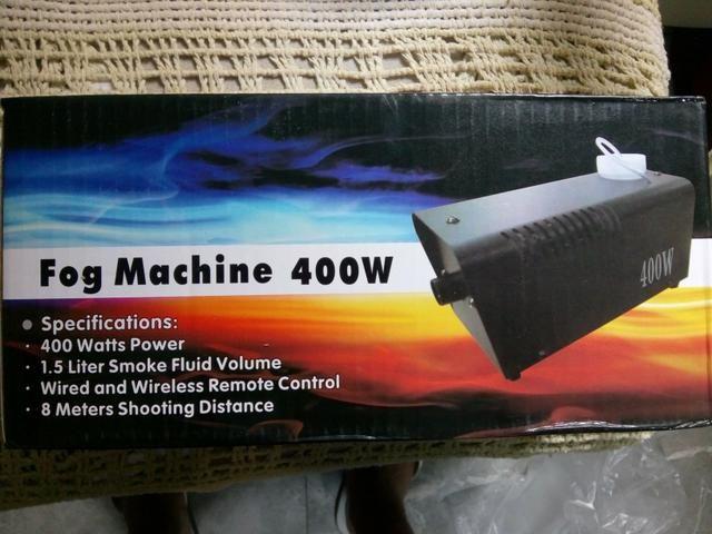 Fog machine máquina de fumaça NOVA - Foto 5