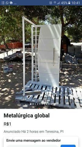 Metal três Marias fabricamos porta,portões,galpões e estruturas em geral - Foto 3