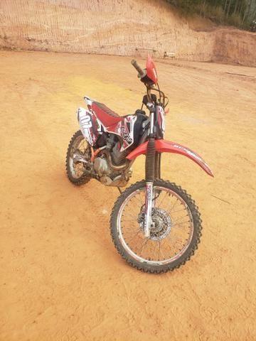 CRF 230f ( preparada p/ 250 ) + Escape DORE ( Troco por moto de rua ) - Foto 2