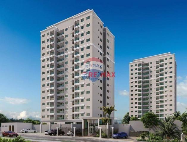 Apartamento com 3 dormitórios à venda, 74 m² por r$ 283.601 - candeias - vitória da conqui