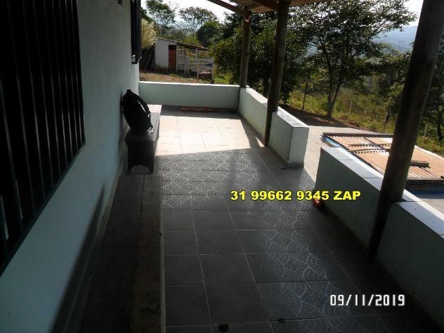 Lindo Sítio Casa Colonial 3 qts Barato-Piscina-Pomar Variado-Curral-Açude-20 mil mts - Foto 12