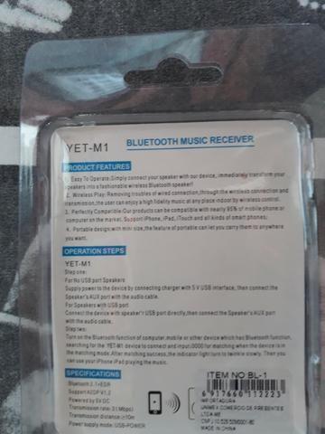 Receptor de Som via Bluetooth (Novo) - Foto 2