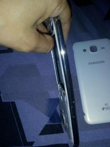 Samsung j5 normal novo para retirada de peças, gastarei muito pra arrumar - Foto 4