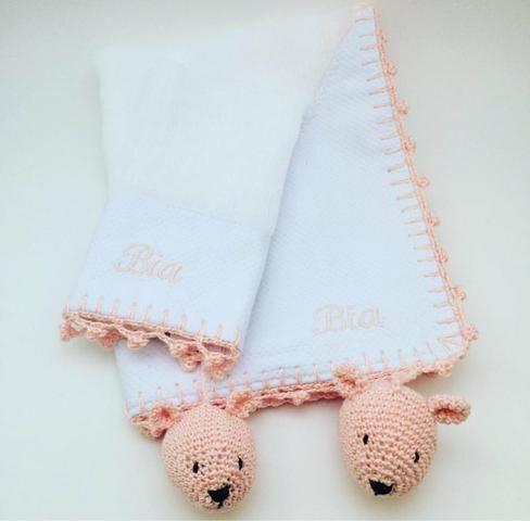 Fraldas Crochê Personalizada - Foto 5