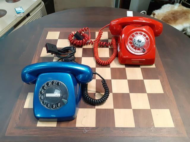 TELEFONE ANTIGO DECORATIVO Mercado das Pulgas *10X parc. - Foto 3
