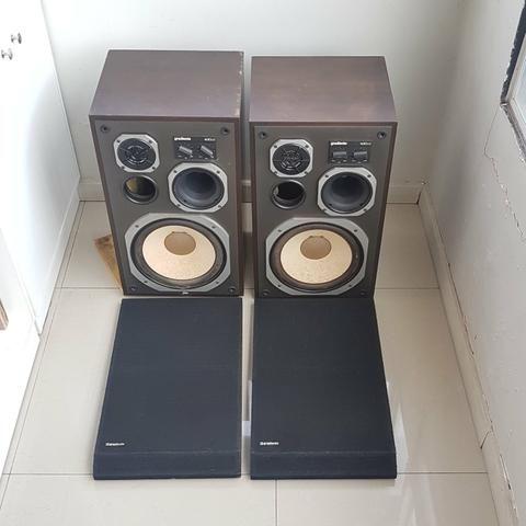 Receiver Sansui e par de caixas de som Gradiente - Foto 6