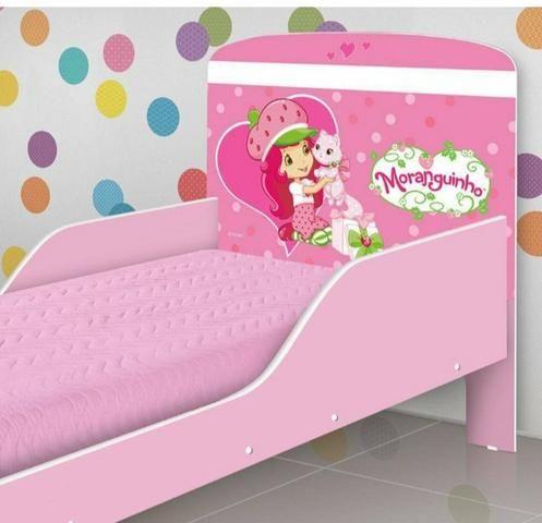 Mini cama moranguinho + COLCHÃO promoção entrega e montagem grátis