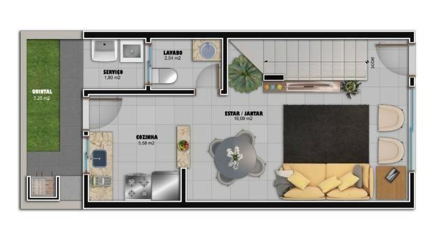 Flórida Parque / Casas Duplex (2 Suítes) / Minha Casa Minha Vida - Foto 16