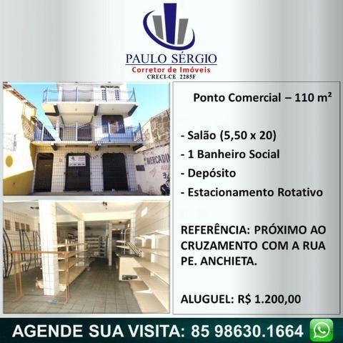 Monte Castelo - Ponto Comercial 110 m²