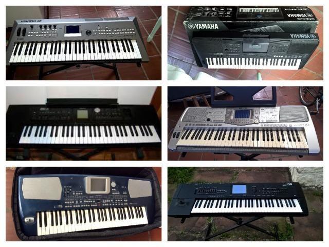 Teclados Solton,Yamaha,Korg,Roland,M-audio e casio todos com ritmos Brasil(51)991098040