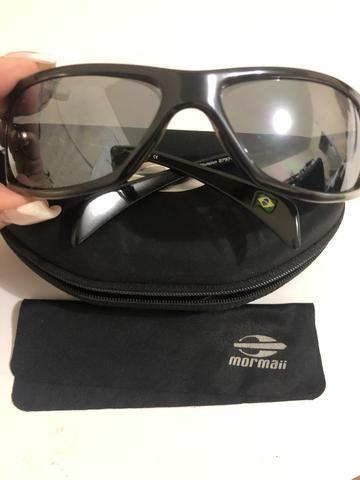 a21b35821 Óculos de sol Mormaii Gamboa Ro Azul com prata Unissex - Bijouterias ...