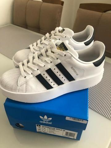 b848b710de7 Tênis Adidas Superstar n. 36 - Roupas e calçados - Novo Eldorado ...
