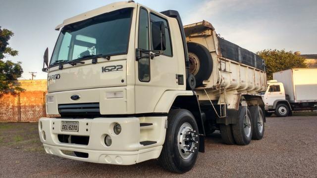 Ford Cargo 1622 truck 6x2 com caçamba Rosseti 10m3 unico dono - Foto 2
