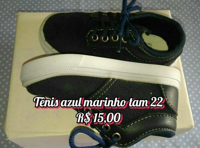 f0a91e68a3 Sapato Tênis Infantil masculino N° 22 - Artigos infantis - Parque ...