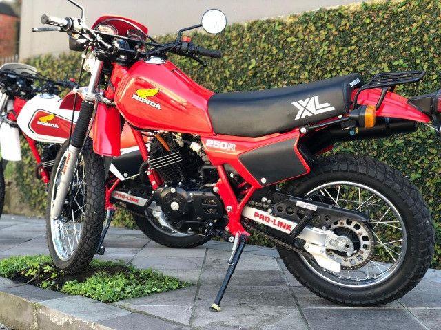 Moto Honda XL 250 ANO 1984