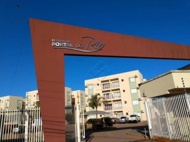 Apartamento com 2 dormitórios à venda no condomínio Portal do Rio, 64 m² por R$ 180.000 -  - Foto 3