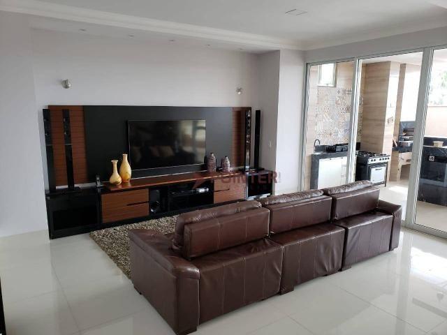 Sobrado à venda, 490 m² por R$ 2.400.000,00 - Alphaville Flamboyant Residencial Araguaia - - Foto 9
