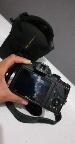 Câmera semi profissional Nikon  - Foto 2
