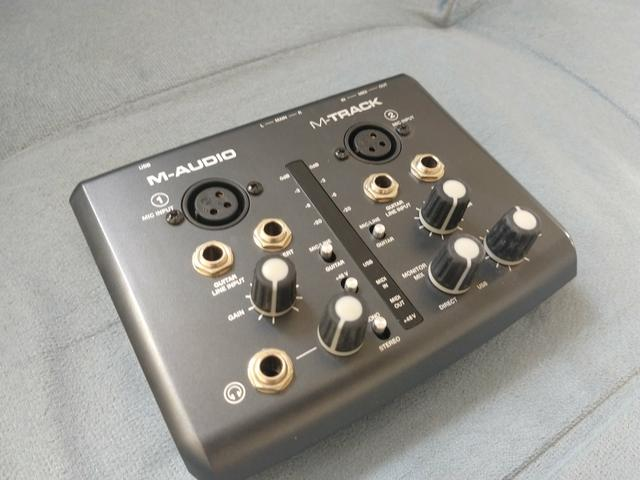 M-audio M-track Li 2x2 Interface De Áudio Para Homestudio - Foto 3