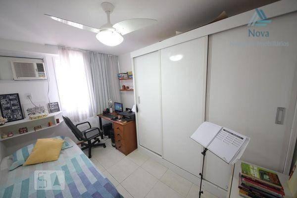Apartamento com 2 dormitórios para alugar, 84 m² por R$ 3.800/mês - Icaraí - Niterói/RJ - Foto 3