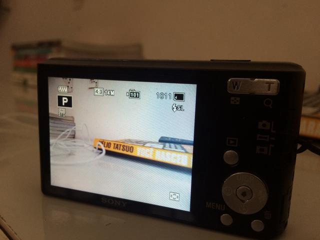 Câmera sony cybershot 14.1 megapixels - Foto 2