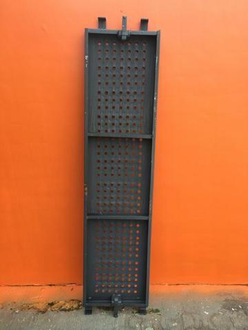 Pisos Metálicos 1,50m x 0,37m Reforçado -Novo - Foto 3