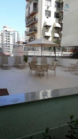 Apartamento com 4 dormitórios para alugar, 118 m² por R$ 3.500,00/mês - Icaraí - Niterói/R - Foto 10