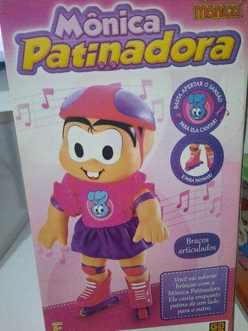 Boneca Mônica patinadora - Foto 2