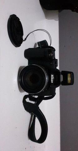 Câmera semi profissional Nikon  - Foto 5
