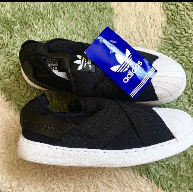 Tênis adidas slip on  - Foto 5