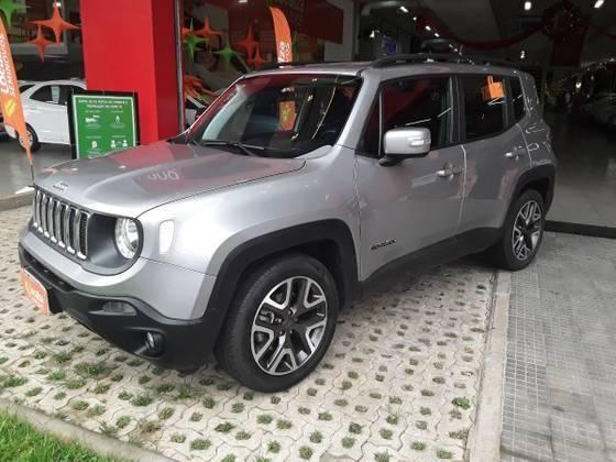 RENEGADE 2019/2019 1.8 16V FLEX LONGITUDE 4P AUTOMÁTICO - Foto 4