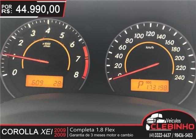 TOYOTA COROLLA 1.8 XEI 16V FLEX 4P AUTOMÁTICO - Foto 9
